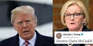 McCaskill and Trump